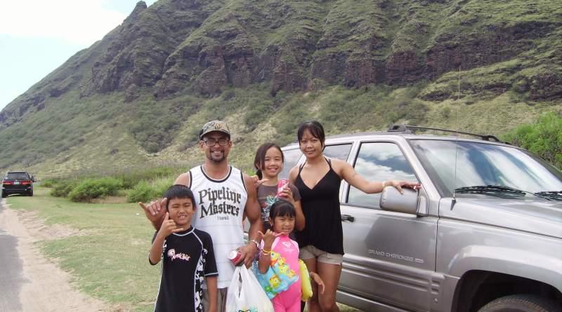 hiking aroudn Oahu, Hawaii