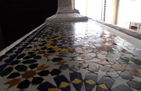 Dar el Menia – a traditional house in Fes