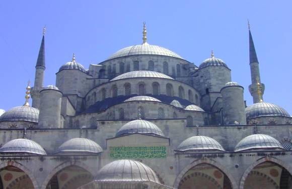 The Blue Mosque of Sultan Ahmet