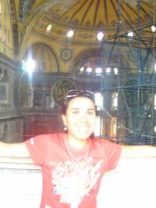 Sightseeing in Istanbul, seeing Hagia Sophia, Sultanahmet, Aya Sophia