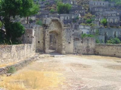 Kayakoy, ghost village, greek village, Fethiye, Turkey