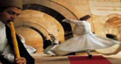 Istanbul whirling dervish