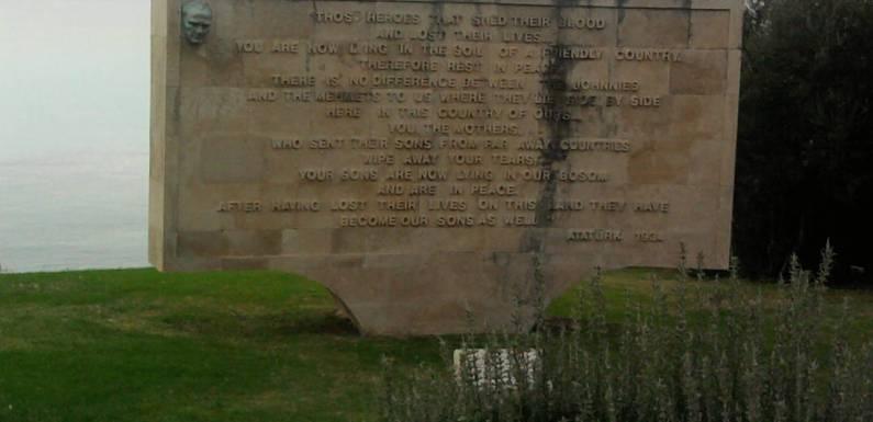 Gallipolli Battlefields and Anzac Day