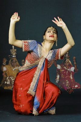 Dancer in India