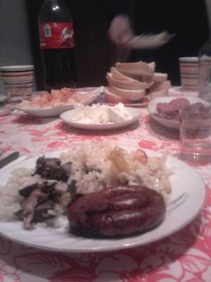 Bulgarian dinner