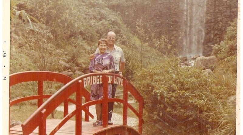 My grandparents in Singapore about 1965