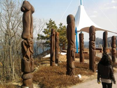 South Korea Penis Park