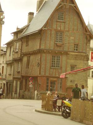 Street scene in France