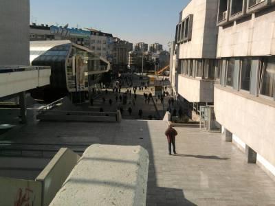 The modern Skopje Mall