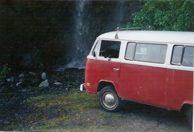 Waterfall Volkswagon