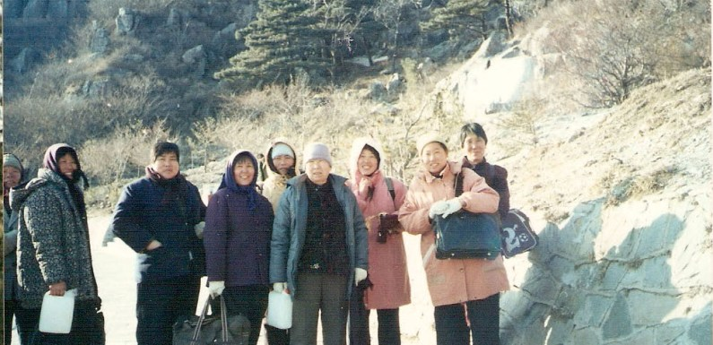Nice Chinese Ladies on Mt. Taishan – Picture of the Day