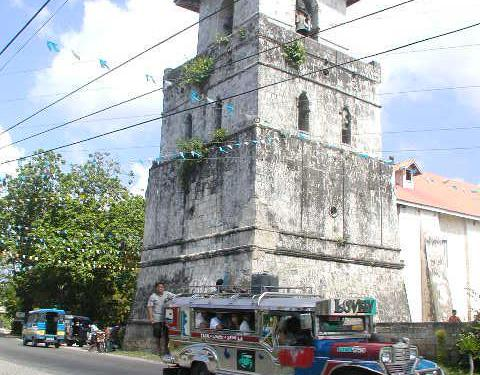 Jeepney and Spanish Church on Bohol – Have You Been Here?