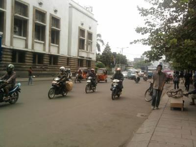 Motorbikes in Jakarta