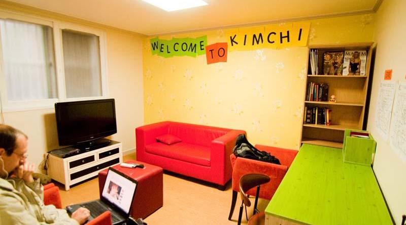hostel in Seoul, South Korea
