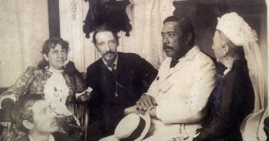Robert Louis Stevenson and David Kalakaua