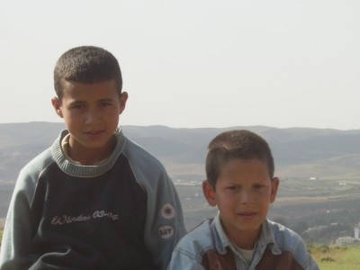 orphan boys in Morocco