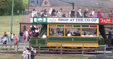Black Country Living Museum - Underground Mine and Tram 49