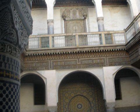 The Glaoui (Glaoua) Palace in Fes, Morocco