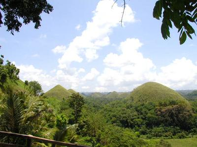 chocolate hills on Bohol
