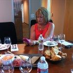 Linda Kissam hard at work