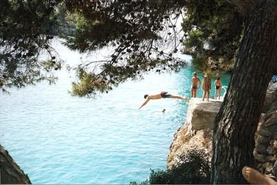 Majorca Cliff Diving