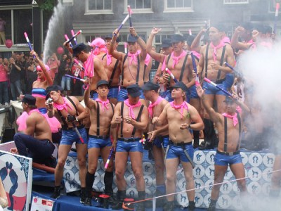 Gay Pride in Amsterdam ccImage courtesy of Comicbase on Flickr