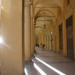 Portico Walk in Bologna