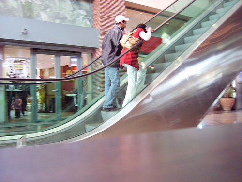 Fun with Moroccan Escalators and Food for Thought