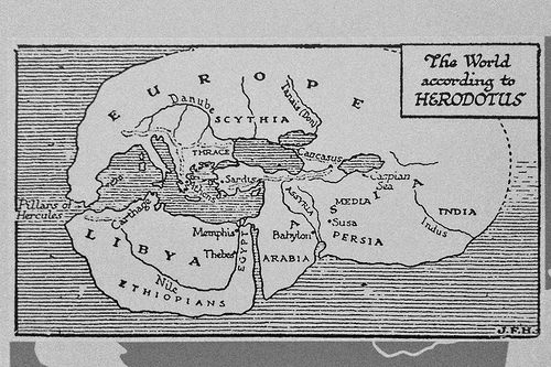 World Map of Herodotus