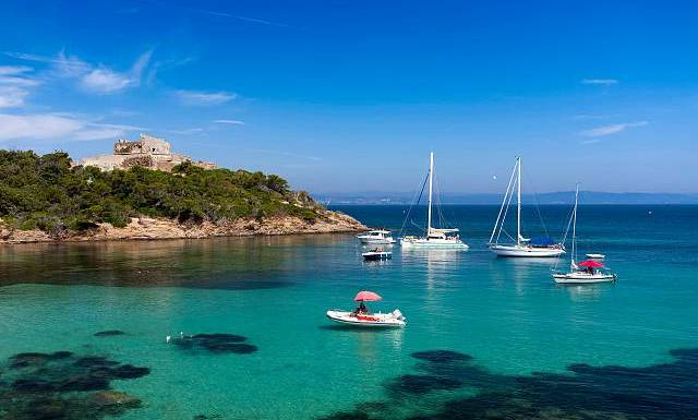 See a different side to the French Riviera in the Hyeres Islands…