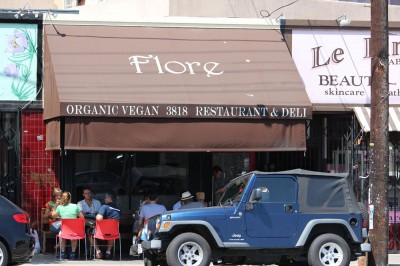 Flore Vegan Restaurant in Los Angeles