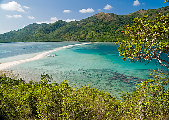 Snake Island in Palawan