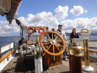 The captain's wheel in Bellingham