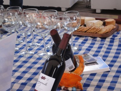 Schooner Zodiac wine tasting