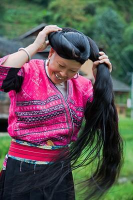 Chinese Yao Long hair