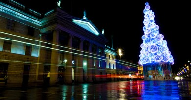 Dublin Lights at Christmascc image by Sebastion Doris on Flickr