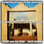 Jack London Travel Quote
