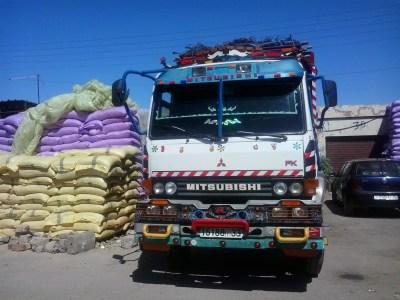 Trucks in Morocco