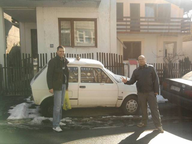 second hand car in Serbia