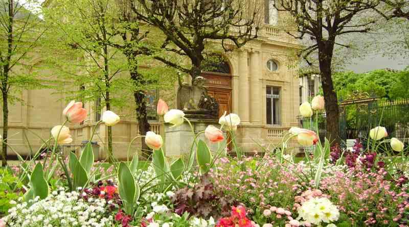 Bordeaux Flower Garden Luxury