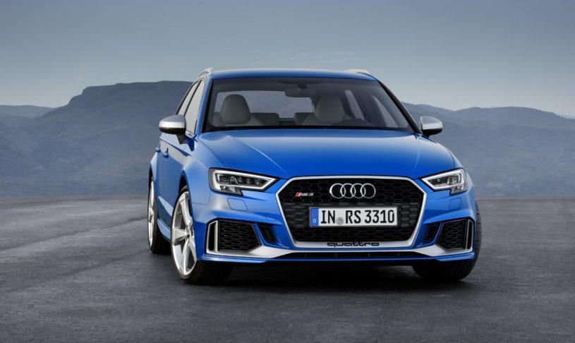 De nieuwe Audi RS3 Sportback: 400 PK
