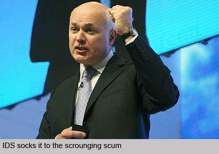 IDS socks it to the scrounging scum