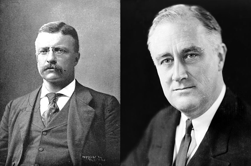 The Roosevelts of New York - Theodore Roosevelt and Franklin D Roosevelt