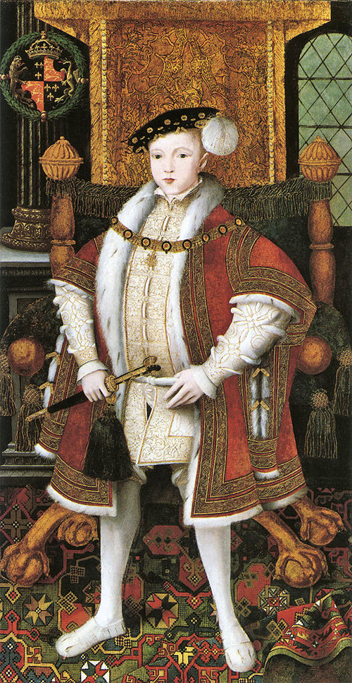 Edward VI By See description [Public domain], via Wikimedia Commons