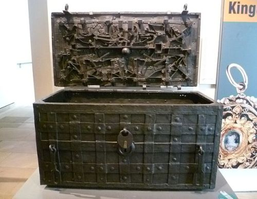 The Darien Chest, Royal Museum, Edinburgh  by Kim Traynor
