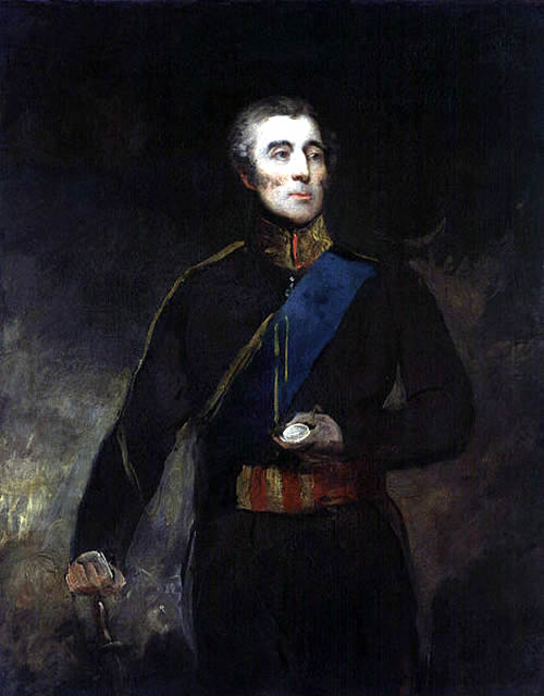 Arthur Wellesley, 1st Duke of Wellington By John Jackson [Public domain], via Wikimedia Commons