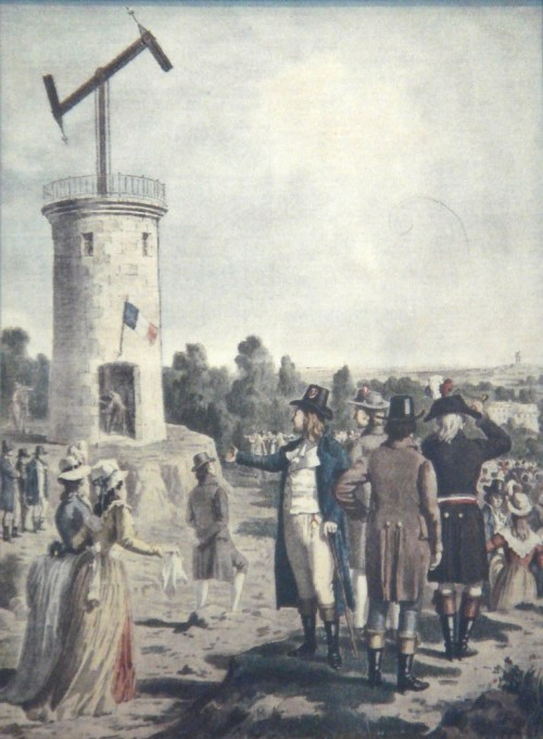 Le systeme Chappe - semaphore / telegraph system