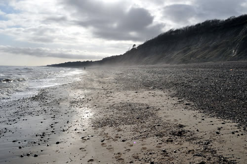 Once a bustling port and capital city, the bulk of Dunwich had slipped into the sea but retained its Parliamentary seats - Dunwich Beach by Ashley Dace [CC-BY-SA-2.0 (http://creativecommons.org/licenses/by-sa/2.0)], via Wikimedia Commons