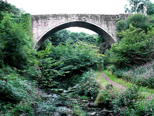The Causey Arch, the world's oldest surviving railway bridge, near Stanley, County Durham, England by John-Paul Stephenson on 11 August 2005