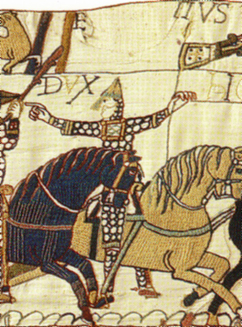 Eustache de Boulogne as depicted in the Bayeux Tapestry